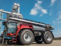 Michelin AxioBib 2 tyres fitted on Flawborough Farms' UK-first Horsch sprayer