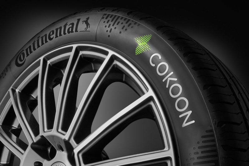 Continental: 250,000 tyres with Cokoon produced