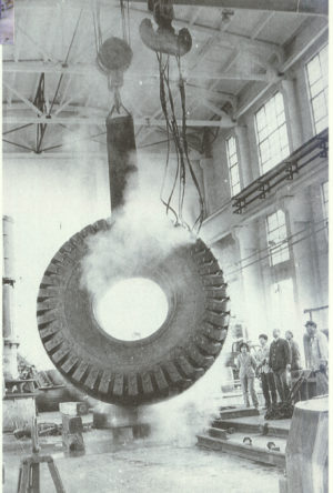 1980s OTR tyre