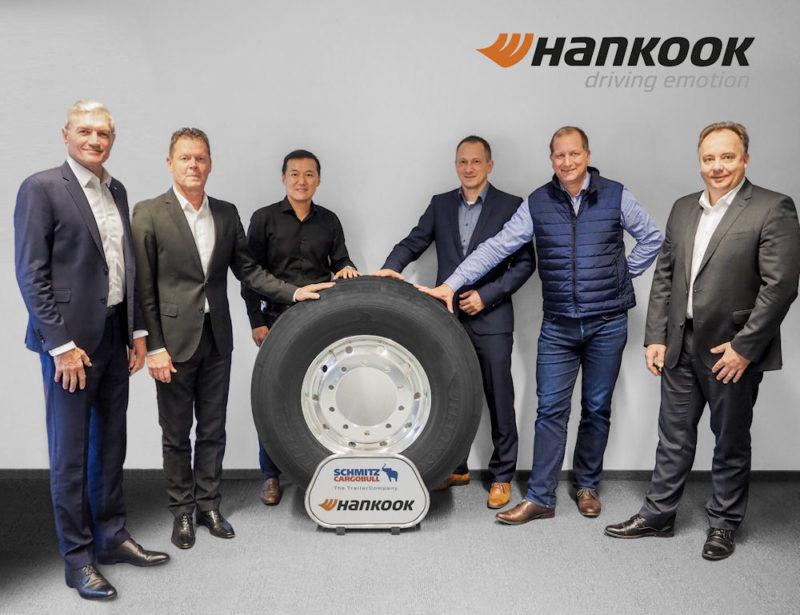 Schmitz Cargobull renews OE agreement with Hankook Tire