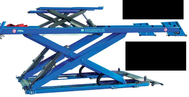 Maha Duo+1 scissor lift