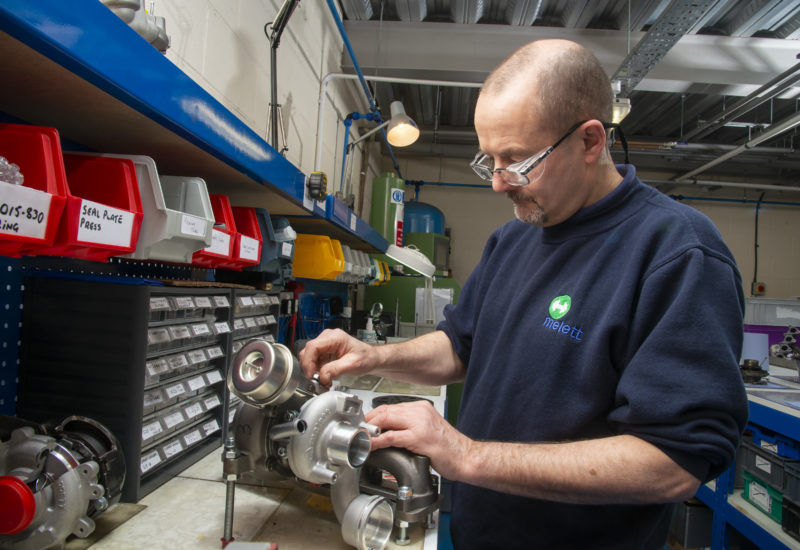 Melett grows partnership with Universal Turbos