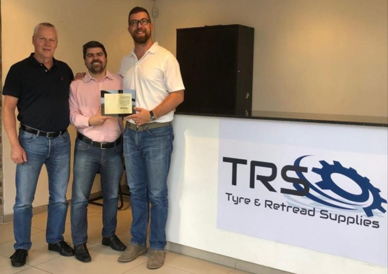 Vipal marks 15-year partnership with South Africa's Tyre & Retread Supplies