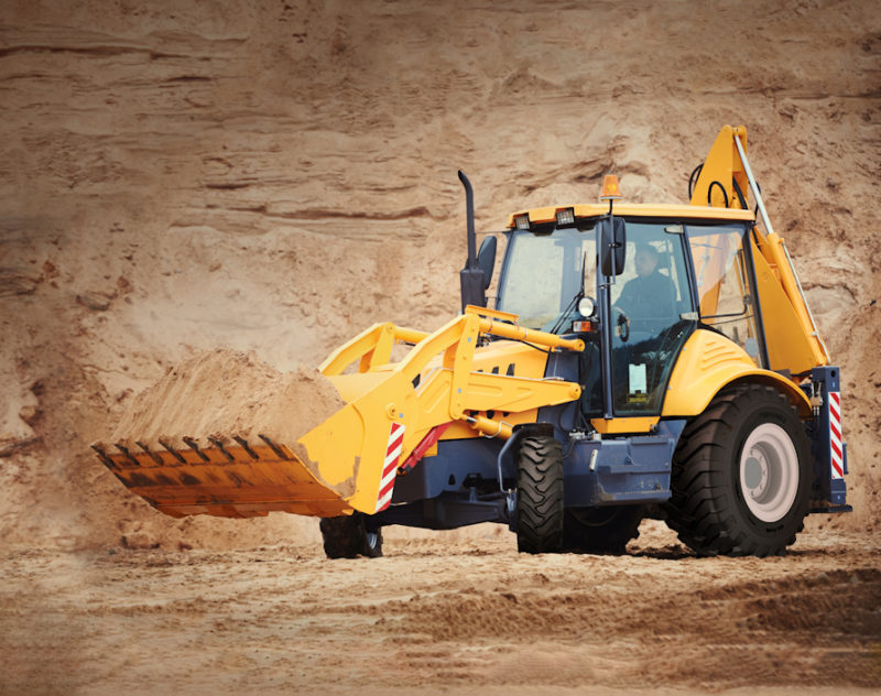 Alliance 321 Plus tyre for backhoes & compact wheel loaders