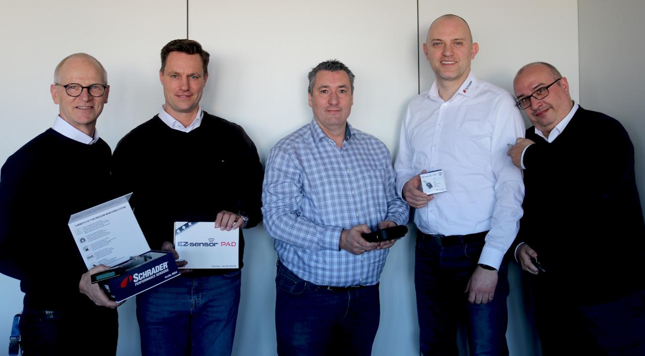 Schrader TPMS Solutions strengthens EMEA sales team