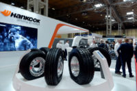 CV Show launch for Laufenn truck tyre range