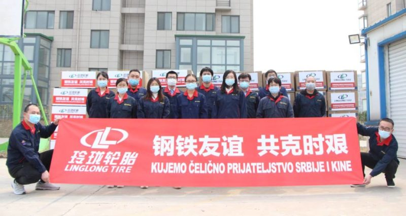 Linglong Tire helping Serbia's battle against coronavirus