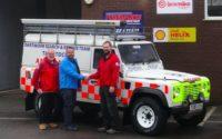 Tavistock General Tire dealer donates tyres to Dartmoor Search & Rescue Team