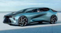 Bespoke Goodyear tyres for Lexus LF-30 Electrified concept