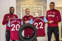 RoadX Tyre becomes official tyre partner of West Ham United
