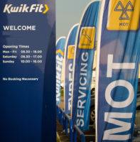 Kwik Fit mobile tyre service spike