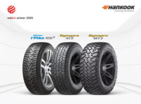 Red Dot Awards for three Hankook tyres