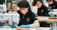 Lamborghini producing surgical masks and medical shields