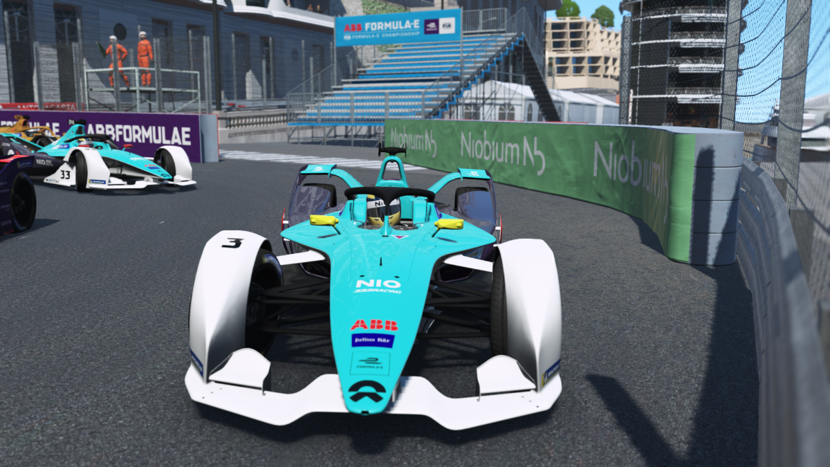 ABB Formula E Race at Home Challenge stages test