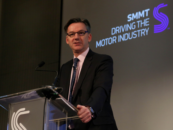 Mike Hawes, chief executive of SMMT