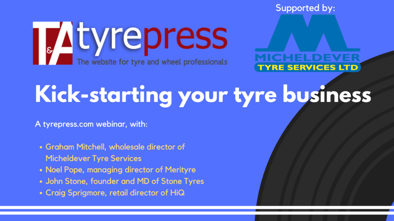 Tyre distributors come together for 'Kick-starting your business' webinar