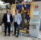 Vito Scaringella (right) the owner of Corgom and Saverio Musto sales director of TRM (left).