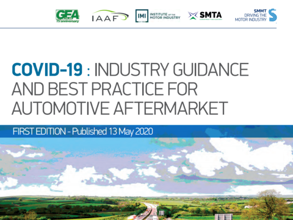 The Garage Equipment Association (GEA), Independent Automotive Aftermarket Federation (IAAF), the Institute of the Motor Industry (IMI), the Scottish Motor Trade Association (SMTA) and the Society of Motor Manufacturers and Traders Ltd (SMMT) compiled the guide
