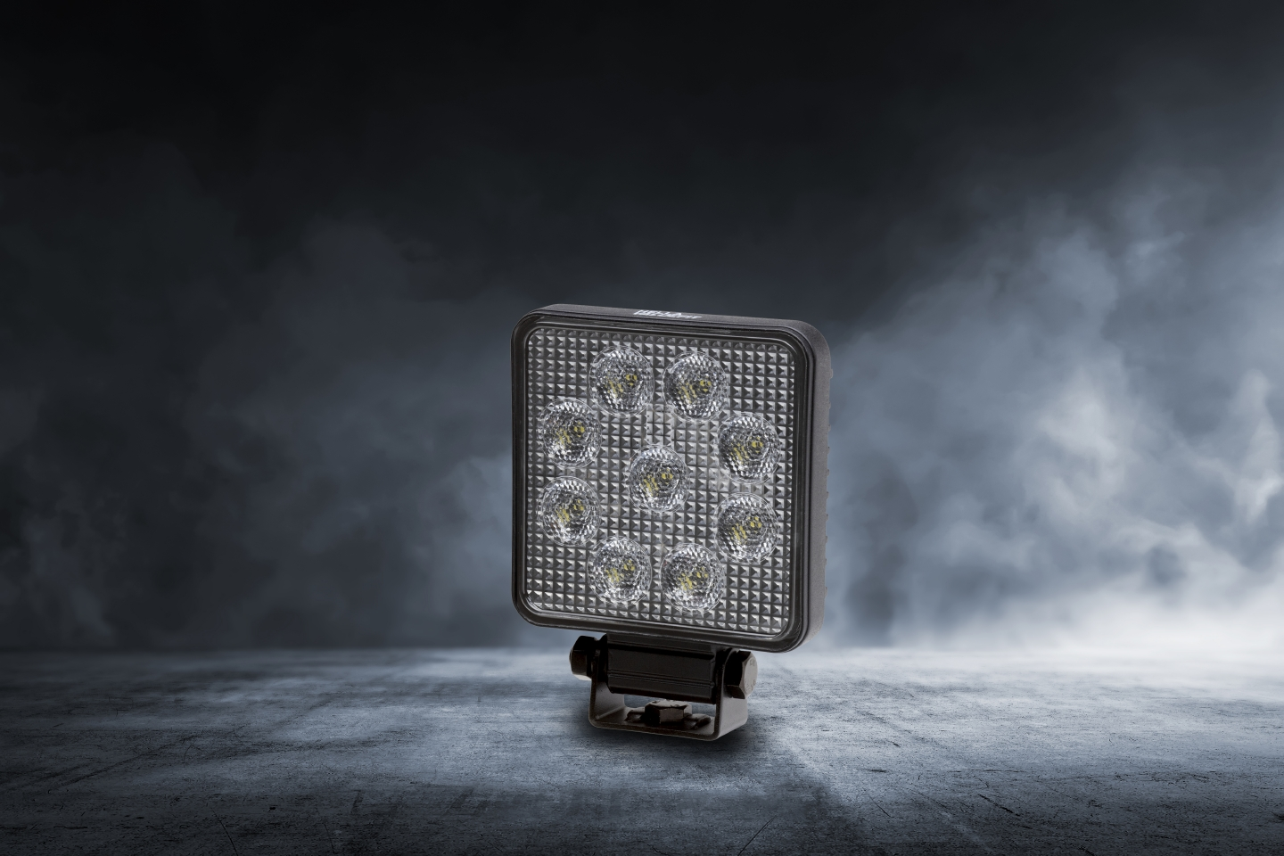 Hella launches first work lamp with plastic housing