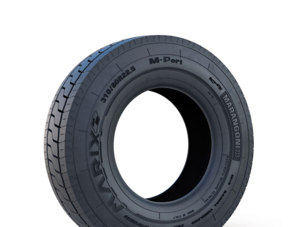 The Marangoni Marix M-Port is available from May 2020 in 310/80 R22.5