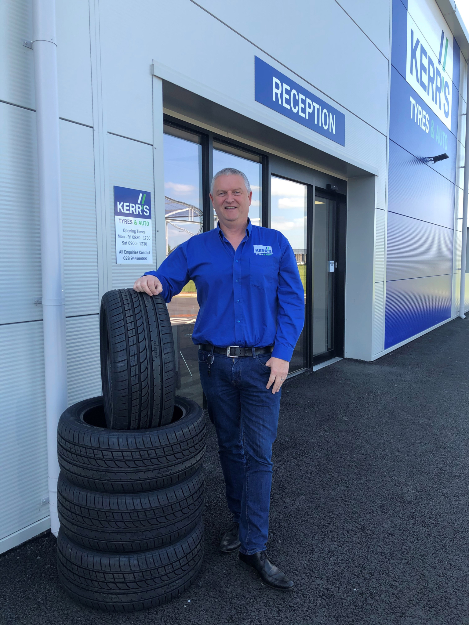Kerr's Tyres secures £500k funding from Ulster Bank