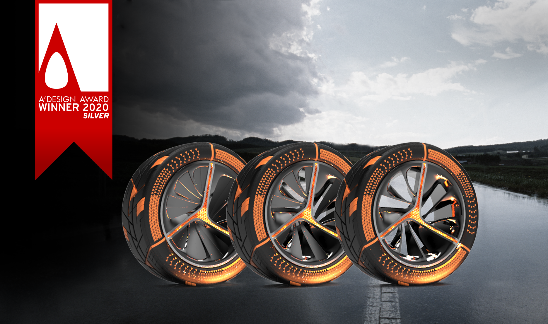 A' Design Award 2020 for Maxxis T Razr concept tyre