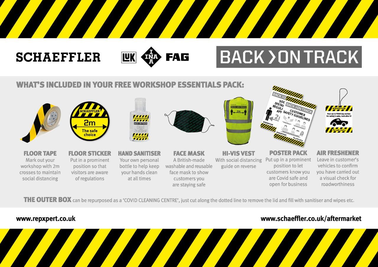 Schaeffler distributes 2,000 free workshop essentials packs