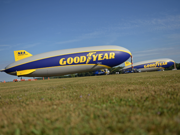 During 2020 the Goodyear Blimp will take to European skies once again