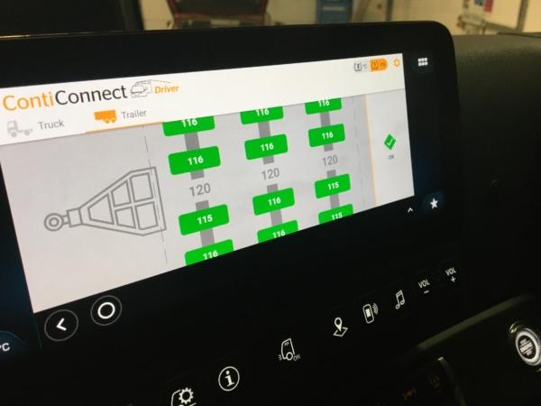 Conti in cab TPMS