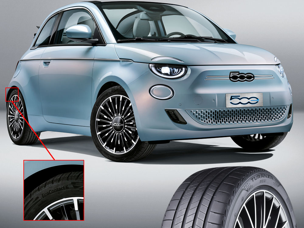Bridgestone to supply Turanza Eco for Fiat 500 La Prima and VW ID.3