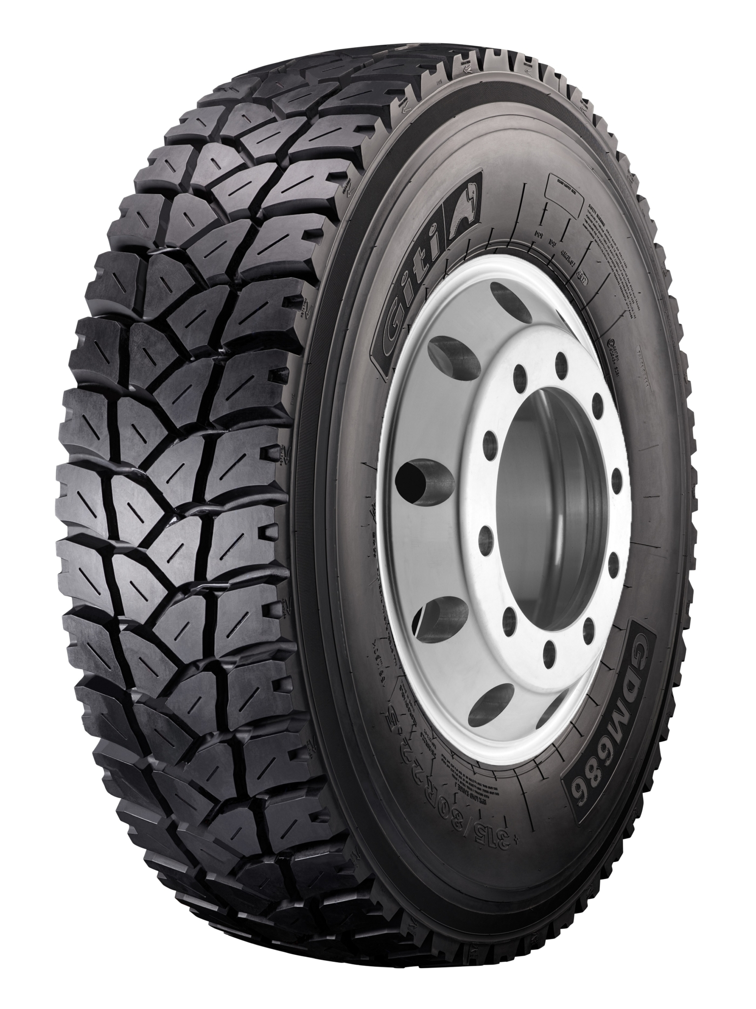 Giti upgrades GDM686 mixed service truck tyre, increasing mileage 20%