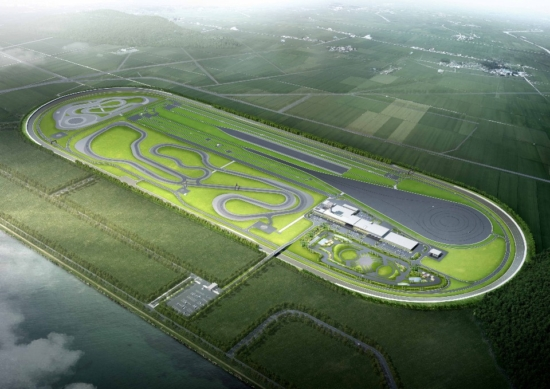 Hankook Tire's Taean Tire Proving Ground in South Chungcheong Province will be completed in the first half of 2021 (Photo: Hankook)