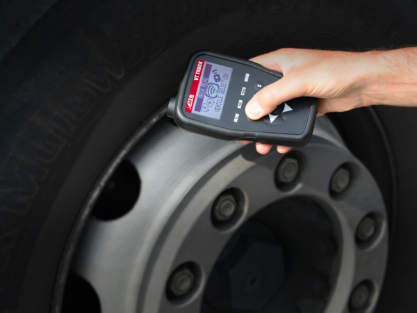 The latest VT Truck tool software update includes further coverage for 30 CV TPMS sensors (Photo: Ateq)