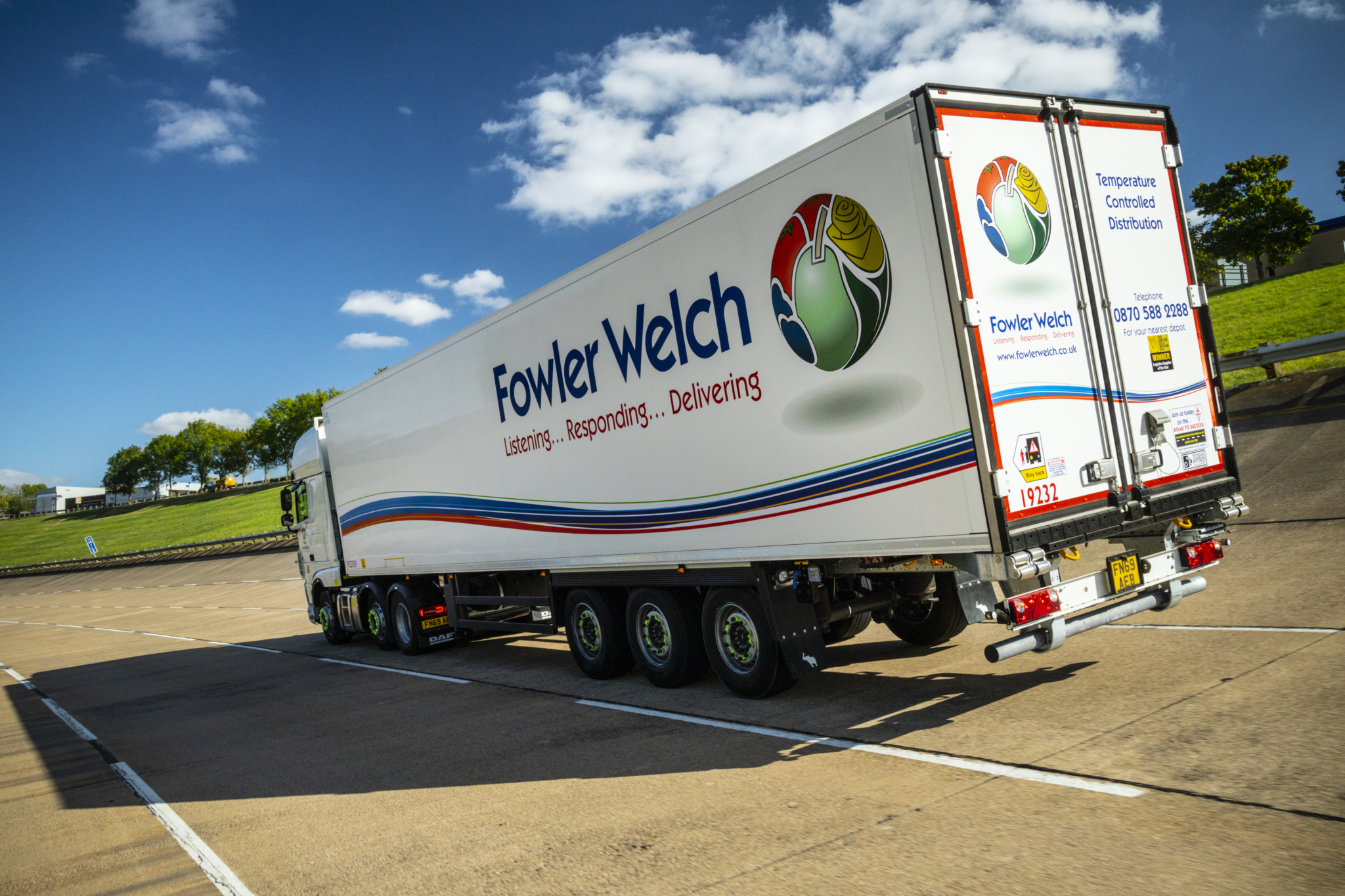 Fowler Welch renews contract with Bandvulc Tyres
