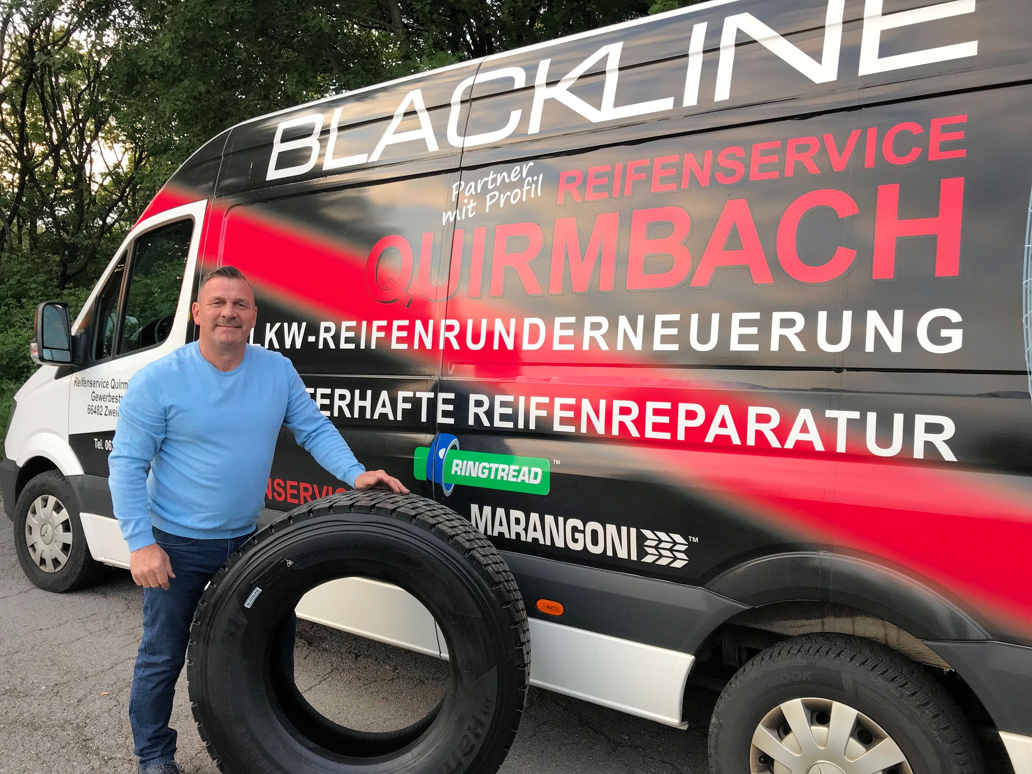 Europe's newest retreader invests in a 'particular service'