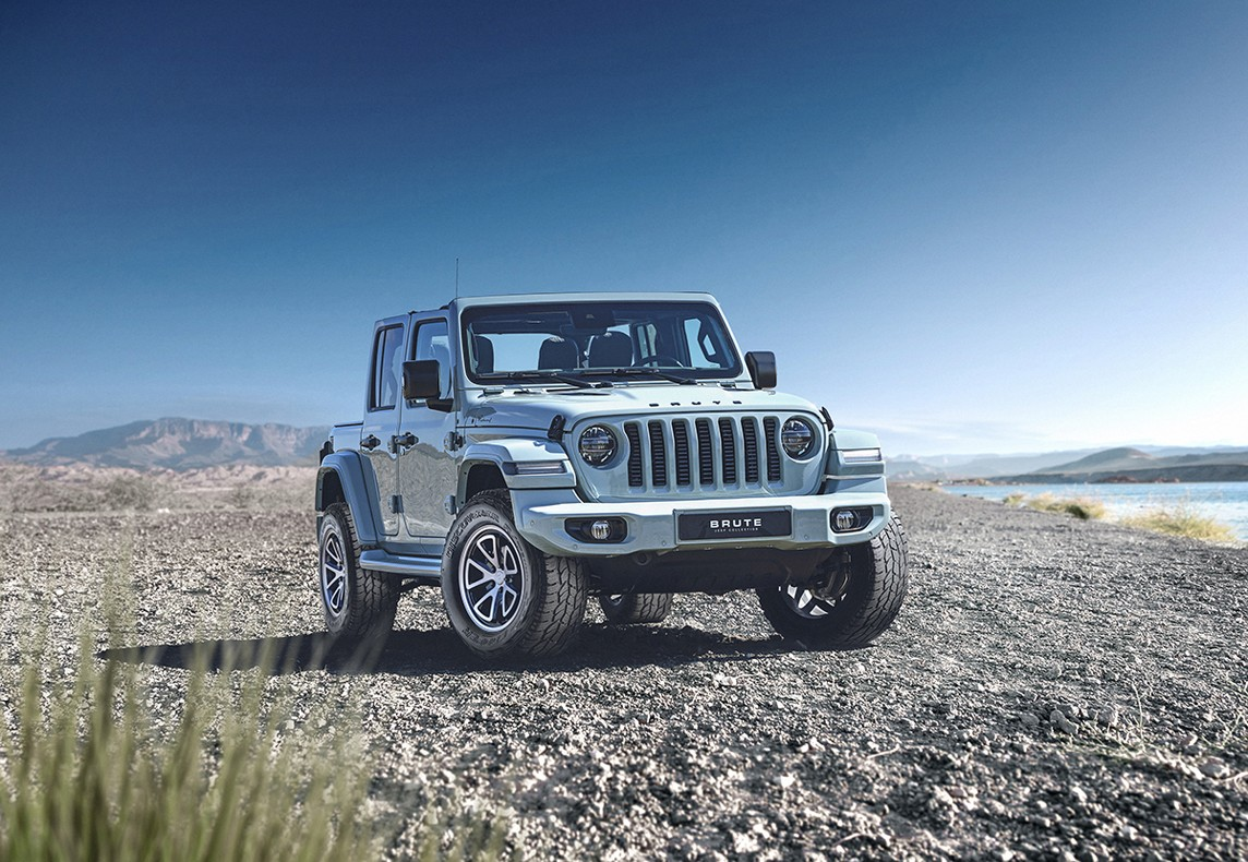 Cooper Tire Europe partners Brute Jeeps