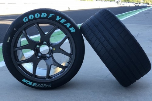 Goodyear's Pure ETCR tyre is inspired by Eagle F1 SuperSport road tyre (Photo: Goodyear)