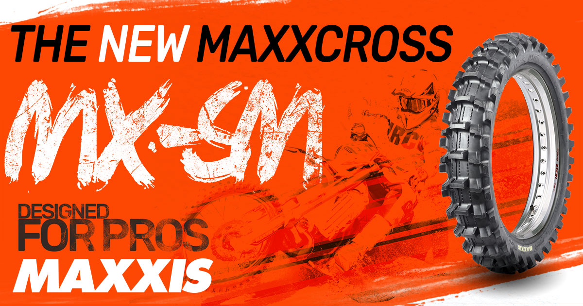 Maxxis MaxxCross MX-SM motocross sand tyre available now