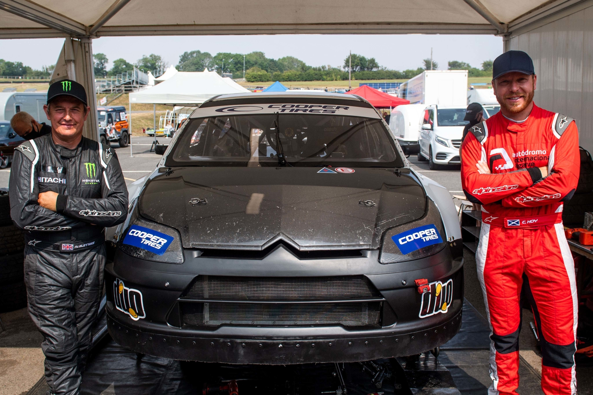 Cooper Tires supported British Rallycross Championship 2020 launched
