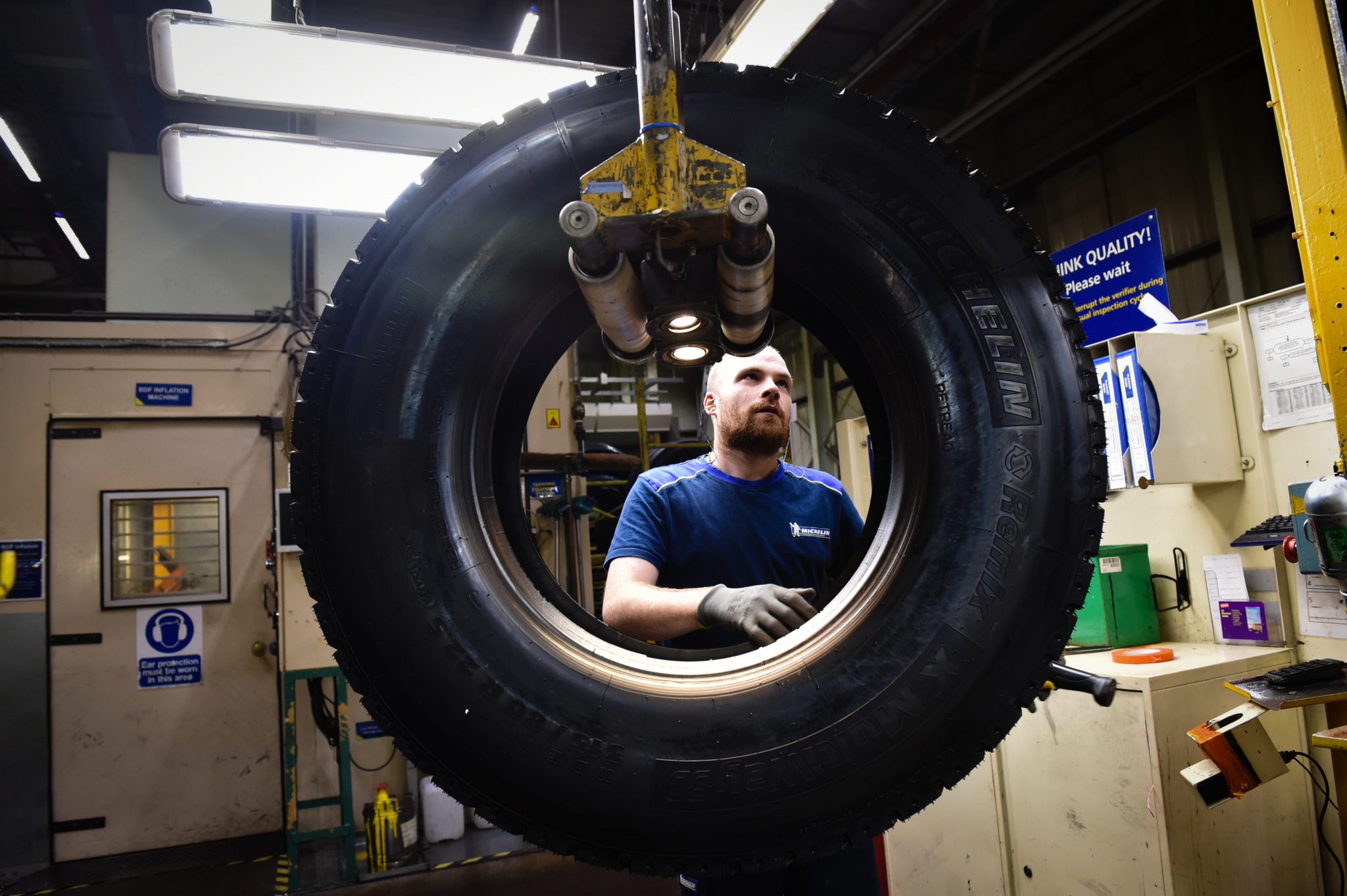 Michelin Stoke production at normal level with 'steady market growth'
