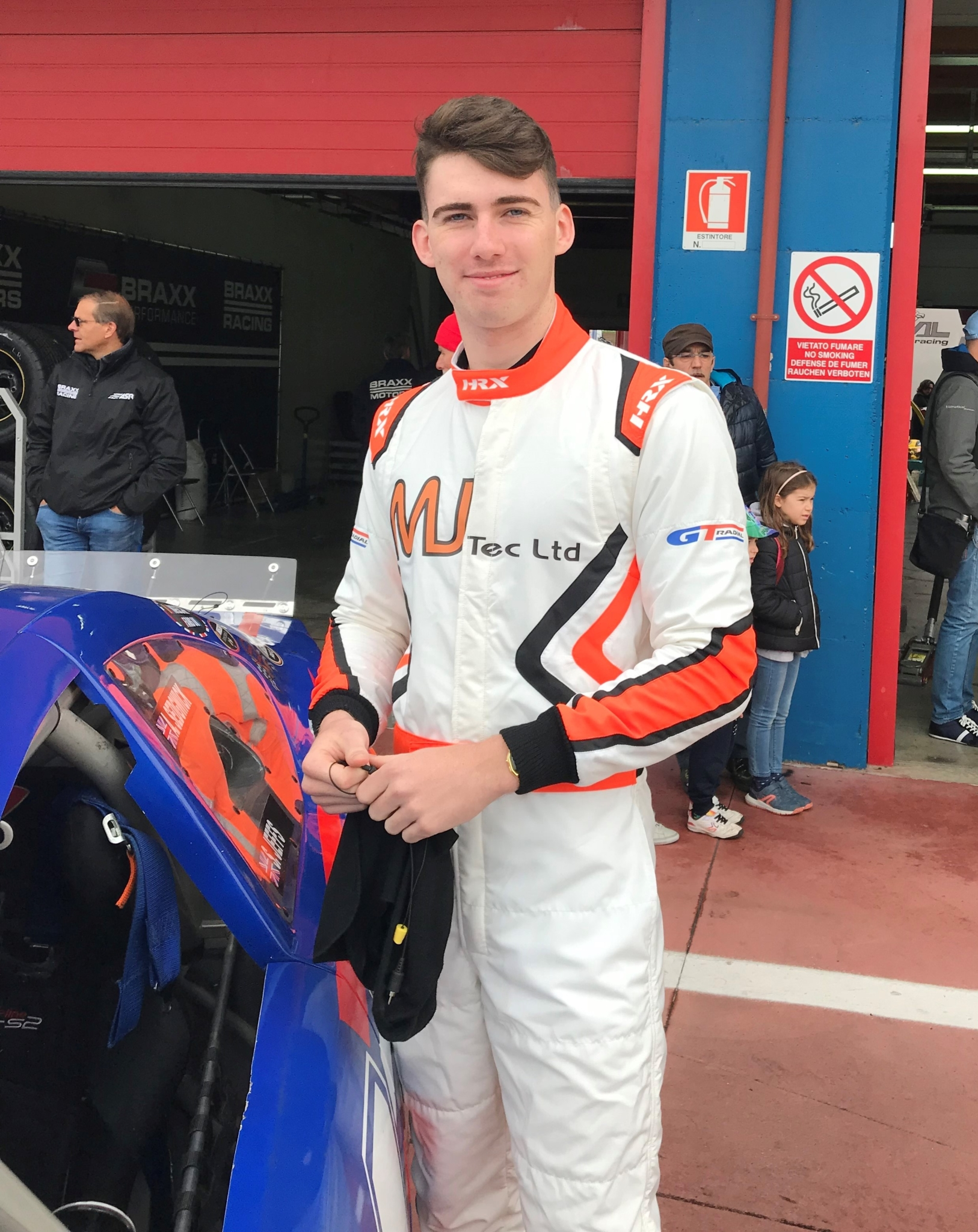 Nascar Euro's Jeffs joins GT Radial for VW Fun Cup at Thruxton