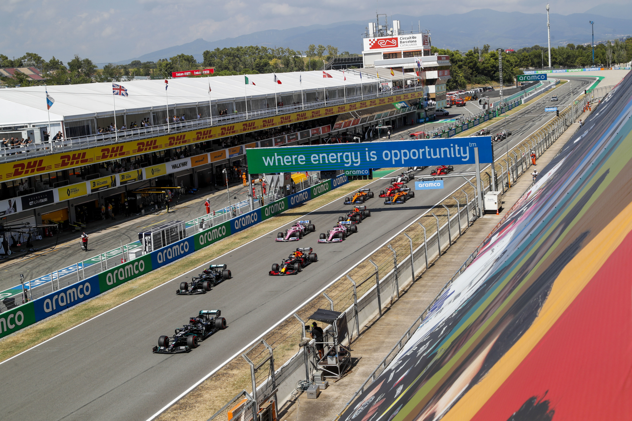 F1 tyre management challenges in near 50-degree Spanish GP