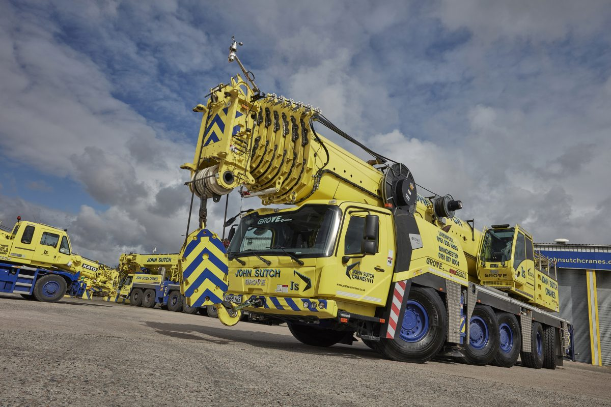 Michelin gives family crane business a lift