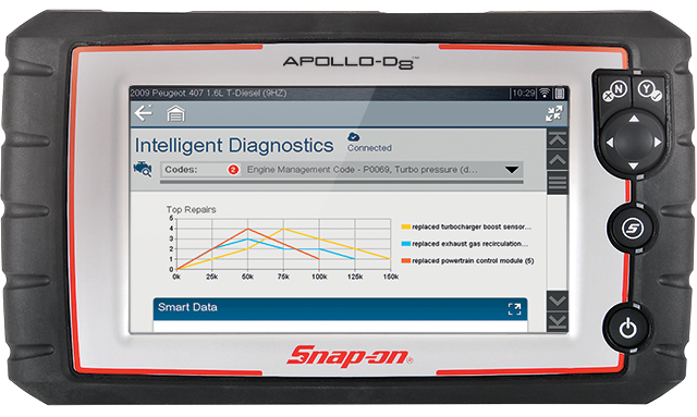 Snap-On launches Apollo-D8 diagnostic tool, training module