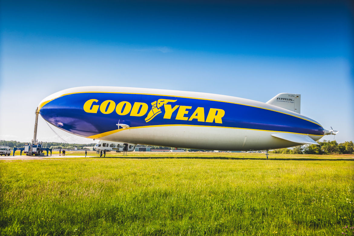 Goodyear Blimp returning to European motorsport