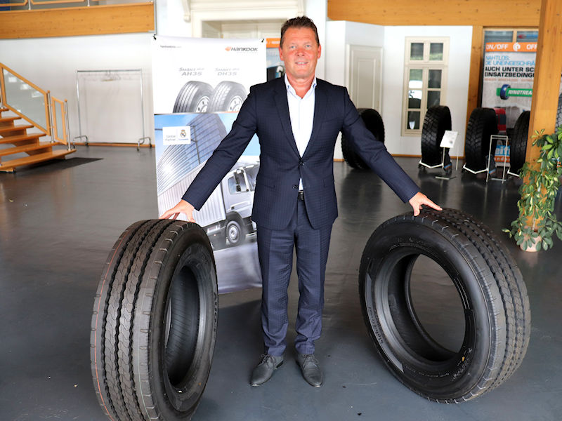Hankook is transforming itself into a system provider with the help of Reifen Müller