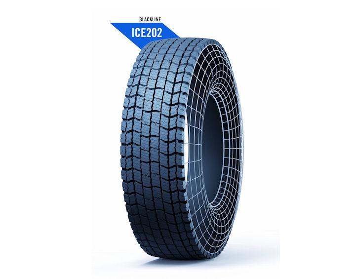 Marangoni introduces Ringtread Blackline ICE202 drive pattern