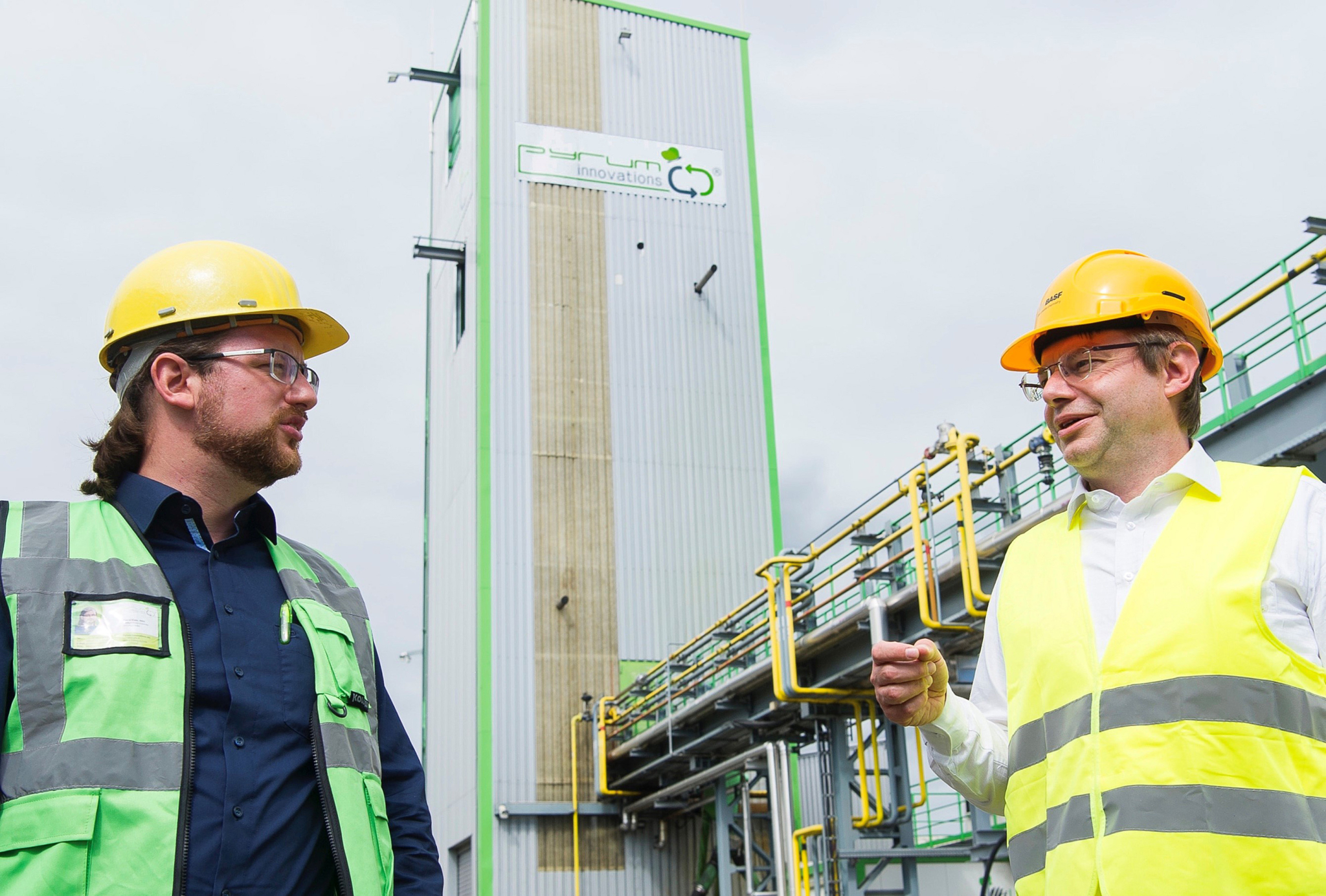 BASF invests 16 million euros into Pyrum waste tyre oil recovery