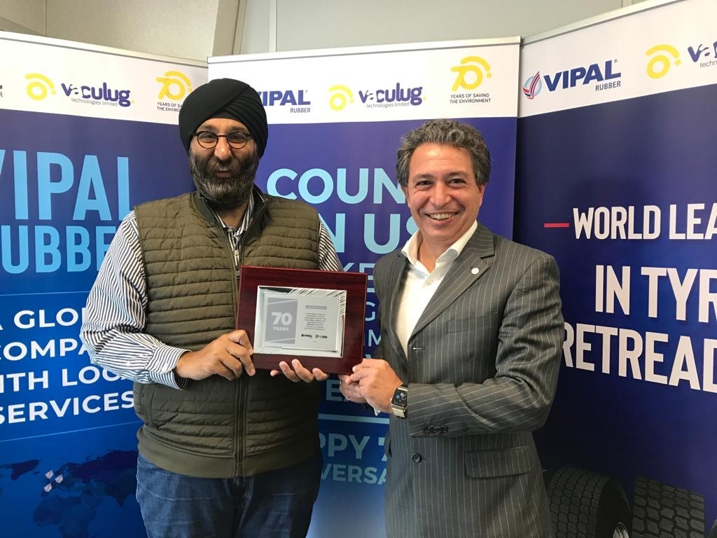 Vipal sponsors Vaculug 70th anniversary celebration