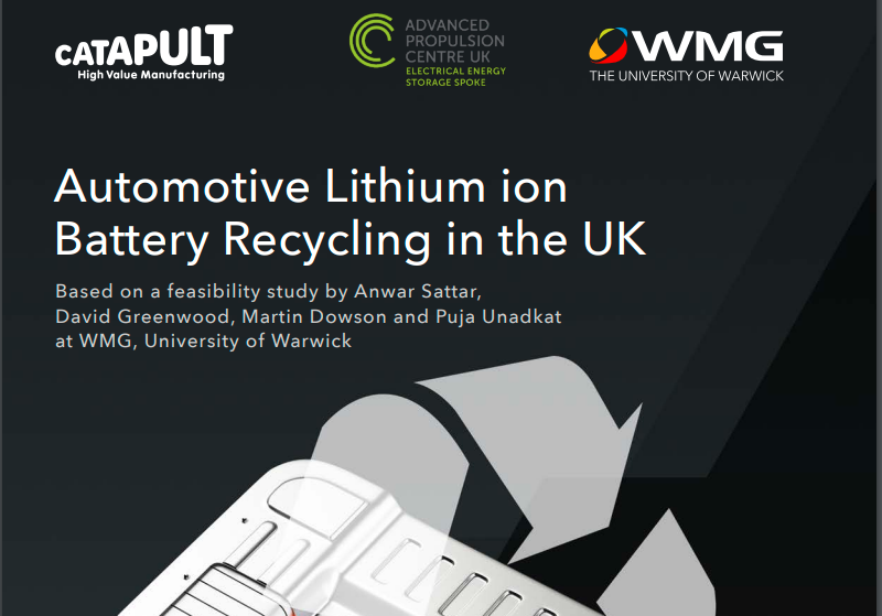 UK could lose out to Europe in battery recycling market